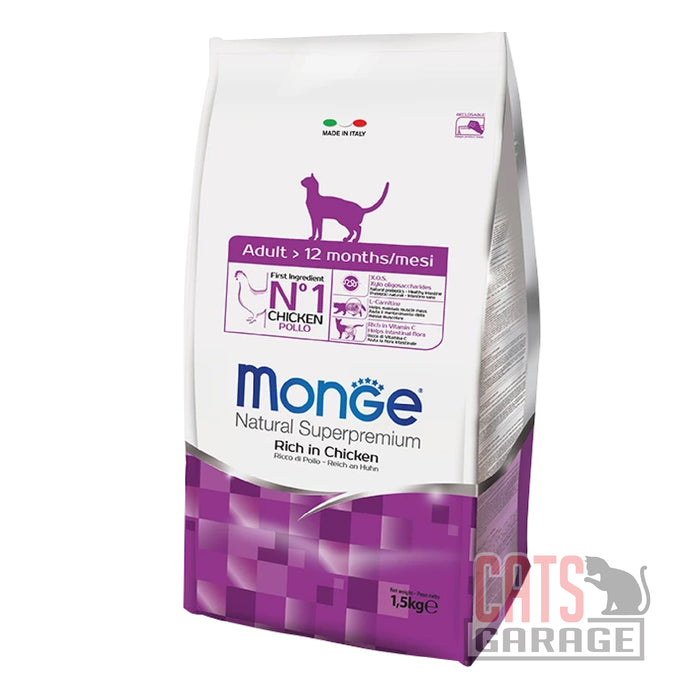 Monge Natural Superpremium - Adult Rich in Chicken (2 Sizes)