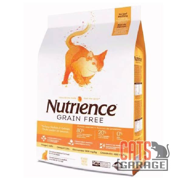Nutrience GF Cat Turkey, Chicken & Herring (2 Sizes)