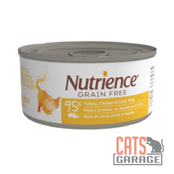 Nutrience Grain Free - Turkey, Chicken & Liver Pate 156g