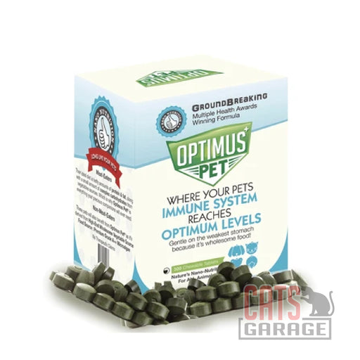 Optimus Pet - Revolutionary Tablet Pet Supplement (3 Sizes)