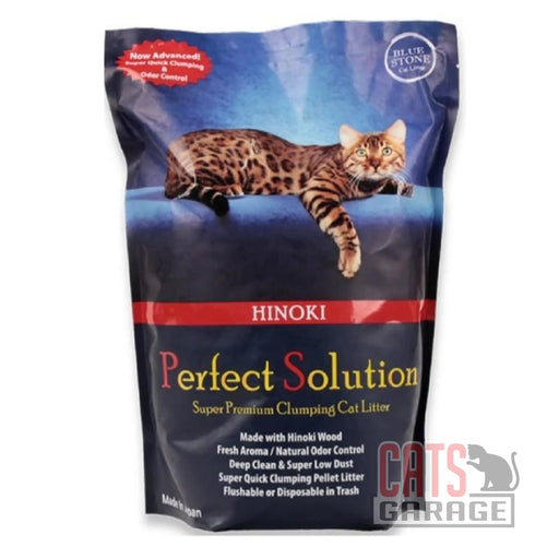 Perfect Solution - Hinoki Wood Clumping Cat Litter 7L