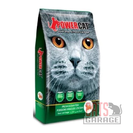 Powercat Halal Organic - Fresh Ocean Fish (3 Sizes)