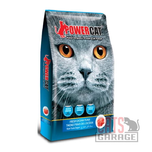 Powercat Halal Organic - Fresh Ocean Tuna (3 Sizes)