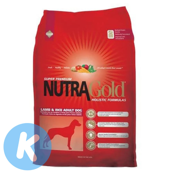 NutraGold - Holistic Lamb & Rice Dry Dog Food (2 Sizes)