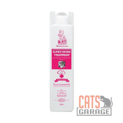 DR Pets™ - Nanosilver Super Shine Treatment Conditioner - English Rose 200ml