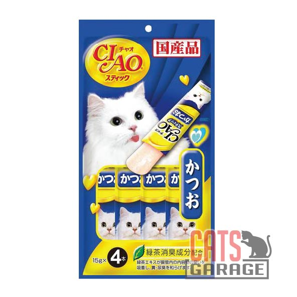 CIAO® Stick - Skipjack in Jelly 4 Pcs X 15g