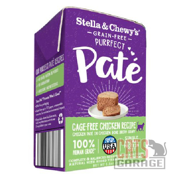 Stella & Chewy's - Grain Free Purrfect Pate / Cage-Free Chicken Recipe