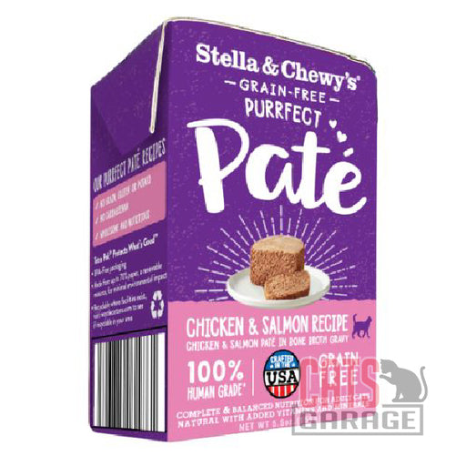 Stella & Chewy's - Grain Free Purrfect Pate / Chicken & Salmon Recipe