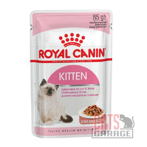 Royal Canin Pouch - Kitten in Gravy 85g