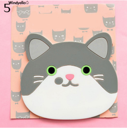 Cat Shaped Tea Silicon Coaster Pad - #5