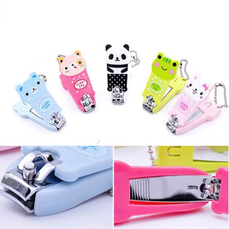 Cute Animal Nail Clippers Keychain