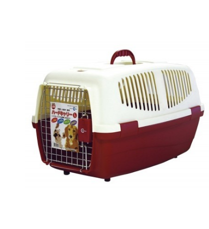 Marukan Pet Carrier L - Red