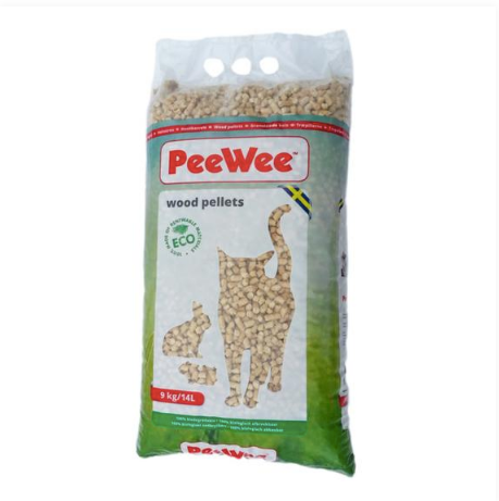 PeeWee™ Eco Wood Litter 9kg