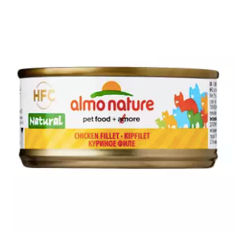 Almo Nature - HFC Natural Chicken Fillet 70g (24 Cans)