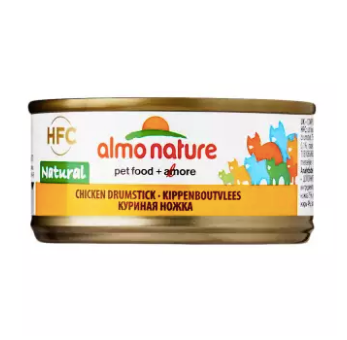 Almo Nature - HFC Natural Chicken Drumstick 70g (24 Cans)