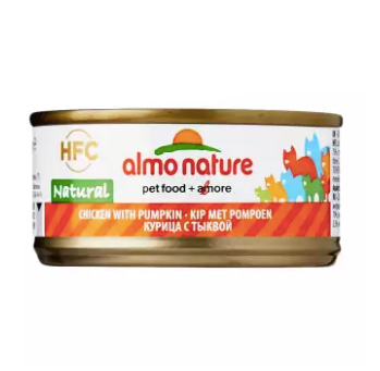 Almo Nature - HFC Natural Chicken & Pumpkin 70g (24 Cans)