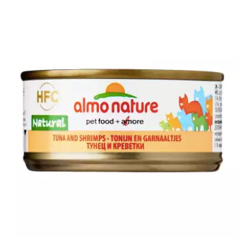 Almo Nature - HFC Natural Chicken & Shrimps 70g (24 Cans)