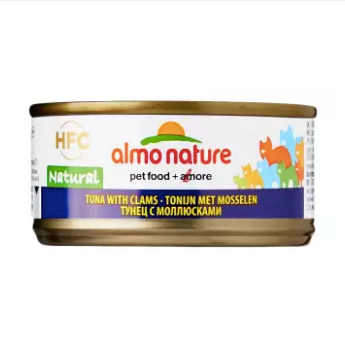 Almo Nature - HFC Natural Tuna & Clams 70g (24 Cans)
