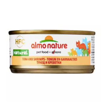 Almo Nature - HFC Natural Tuna & Shrimps 70g (24 Cans)