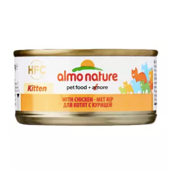Almo Nature - HFC Kitten With Chicken 70g (24 Cans)