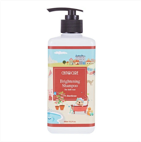 Chitocure® - Brightening Shampoo [For Cats & Dogs] (2 Sizes)