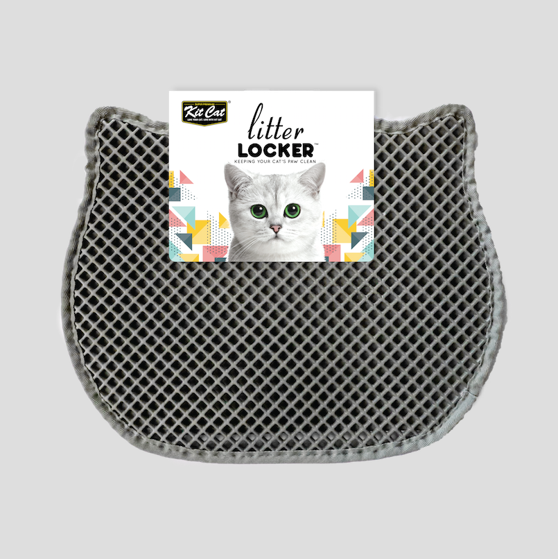 Kit Cat® - Double Layer Litter Locker Mat (Grey)