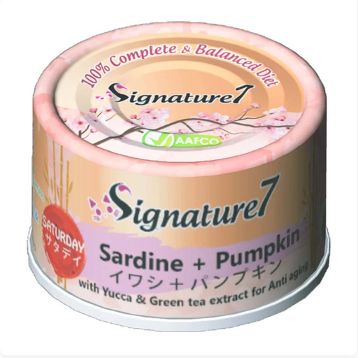 Signature7 - [Anti Aging] Sardine & Pumpkin 2.5oz [24 Cans]