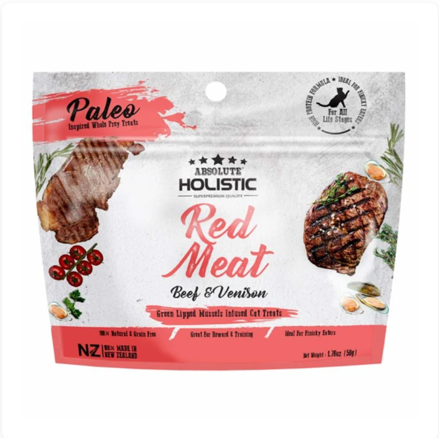 Absolute Holistic [Red Meat] Air Dried Grain-Free 50g