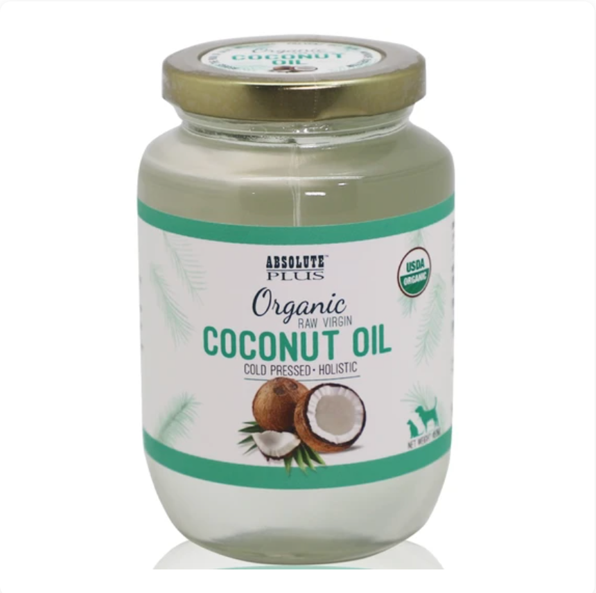 Absolute Plus - Organic Raw Virgin Coconut Oil For Pets