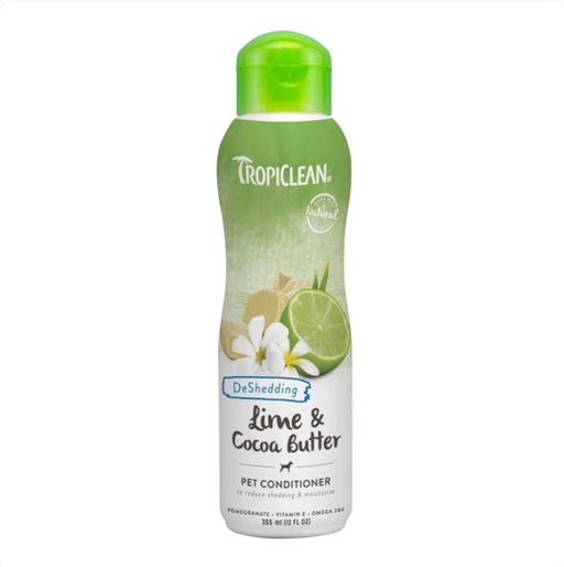 Tropiclean® Conditioner - Lime & Cocoa Butter (Deshedding) 12oz