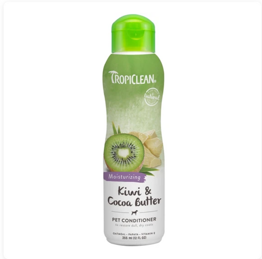 Tropiclean® Conditioner - Kiwi & Cocoa Butter (Moisturising) 12oz