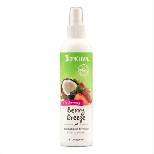 Tropiclean® Pet Spray - Berry Breeze Deodorizing 8oz