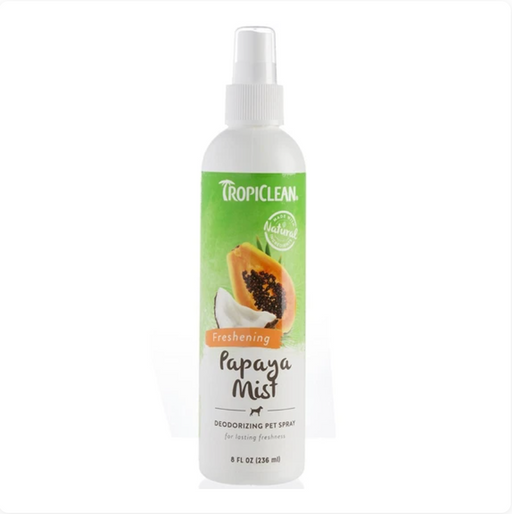 Tropiclean® Pet Spray - Papaya Mist Deodorizing 8oz