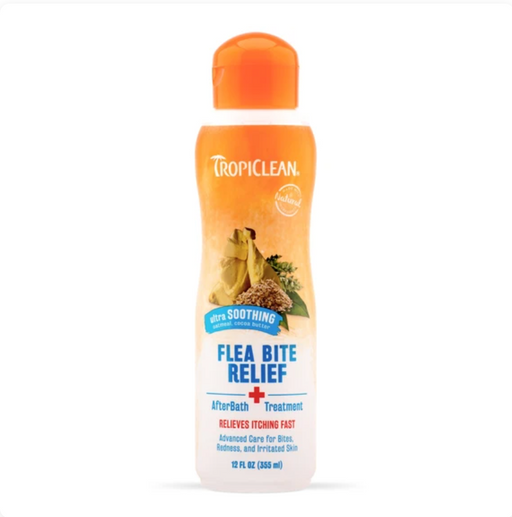 Tropiclean® Flea & Tick - Natural Bite Relief (After Bath Treatment) 12oz
