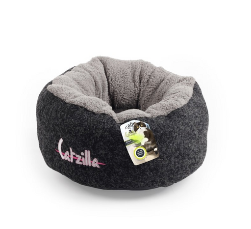 All For Paws Catzilla - Mellow Cat Bed [Black]
