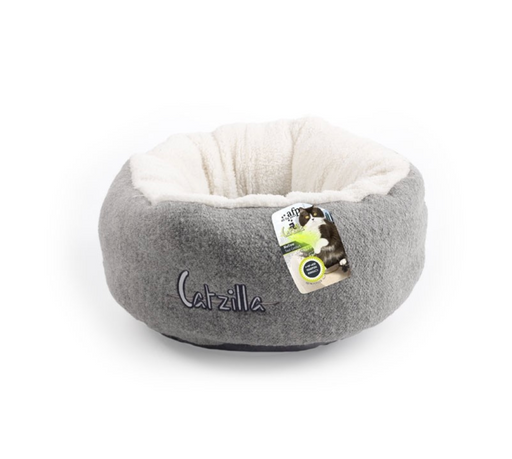 All For Paws Catzilla - Mellow Cat Bed [Grey]