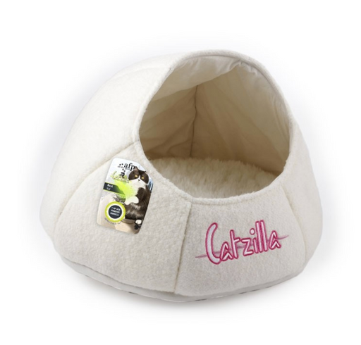 All For Paws Catzilla - Nest Cat Bed [White]