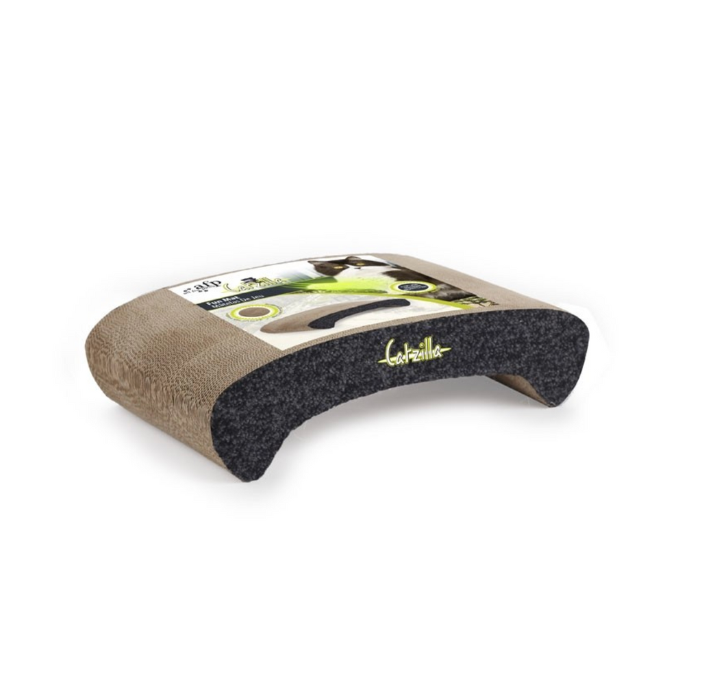All For Paws Catzilla - Wave Cardboard Scratcher