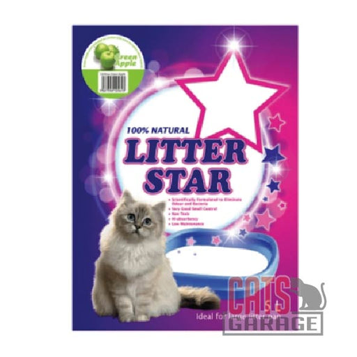 Litter Star - Green Apple (Silica Gel Beads) 5L
