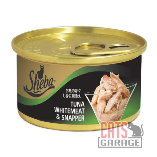 Sheba - Tuna Whitemeat & Snapper 85g