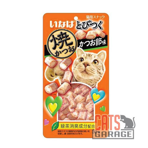 CIAO® Soft Bits - Mix Tuna & Chicken Fillet Dried Bonito Flavor 30g