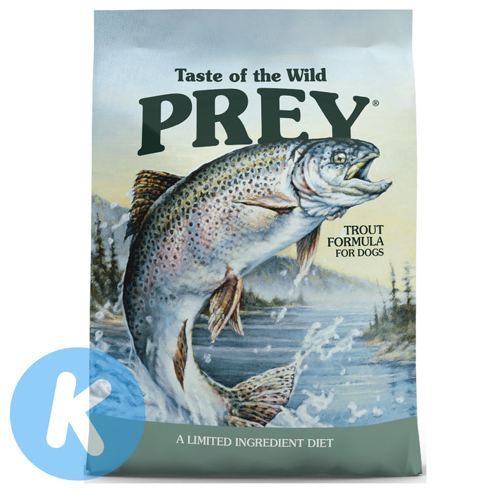 Taste of the Wild - Prey Trout Grain Free Dry Dog Food (2 Sizes)