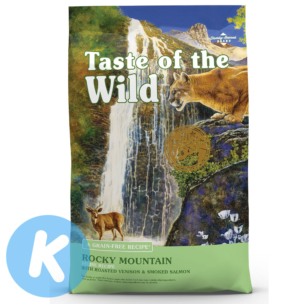 Taste Of The Wild - Rocky Mountain Feline® Formula - Roasted Venison & Smoked Salmon (2 Sizes)