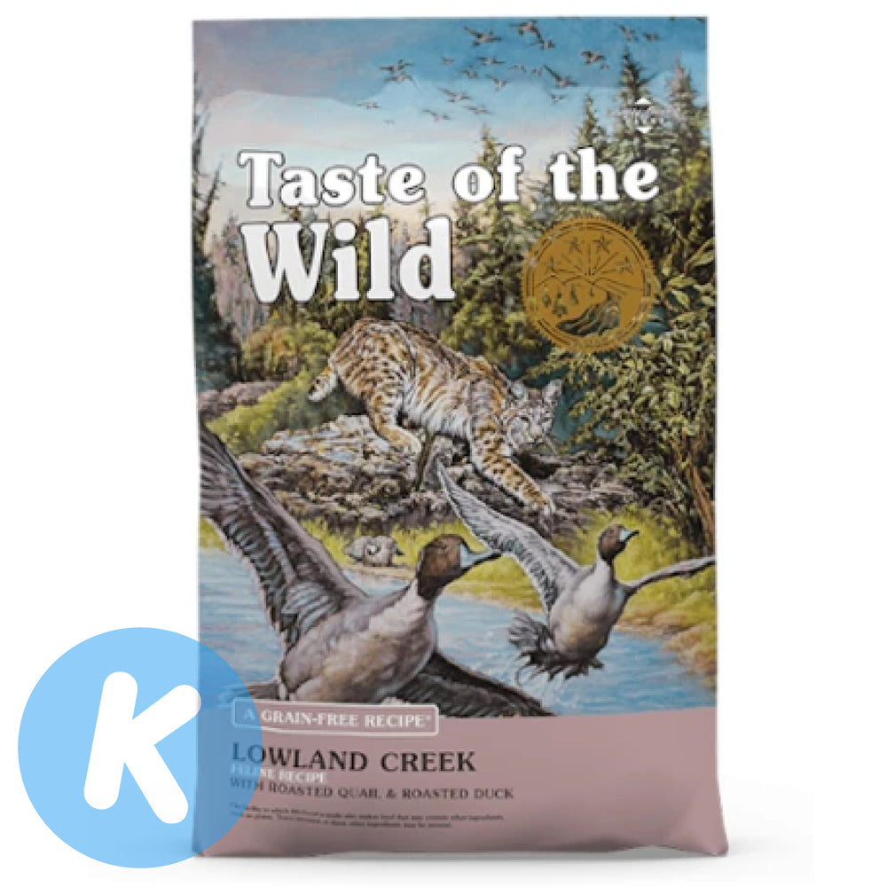 Taste Of The Wild - Free Lowland Creek with Roasted Quail & Roasted Duck (2 Sizes)