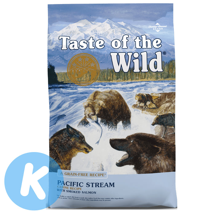 Taste Of The Wild - Pacific Stream with Smoked Salmon Canine Dry Dog Food (2 Sizes)