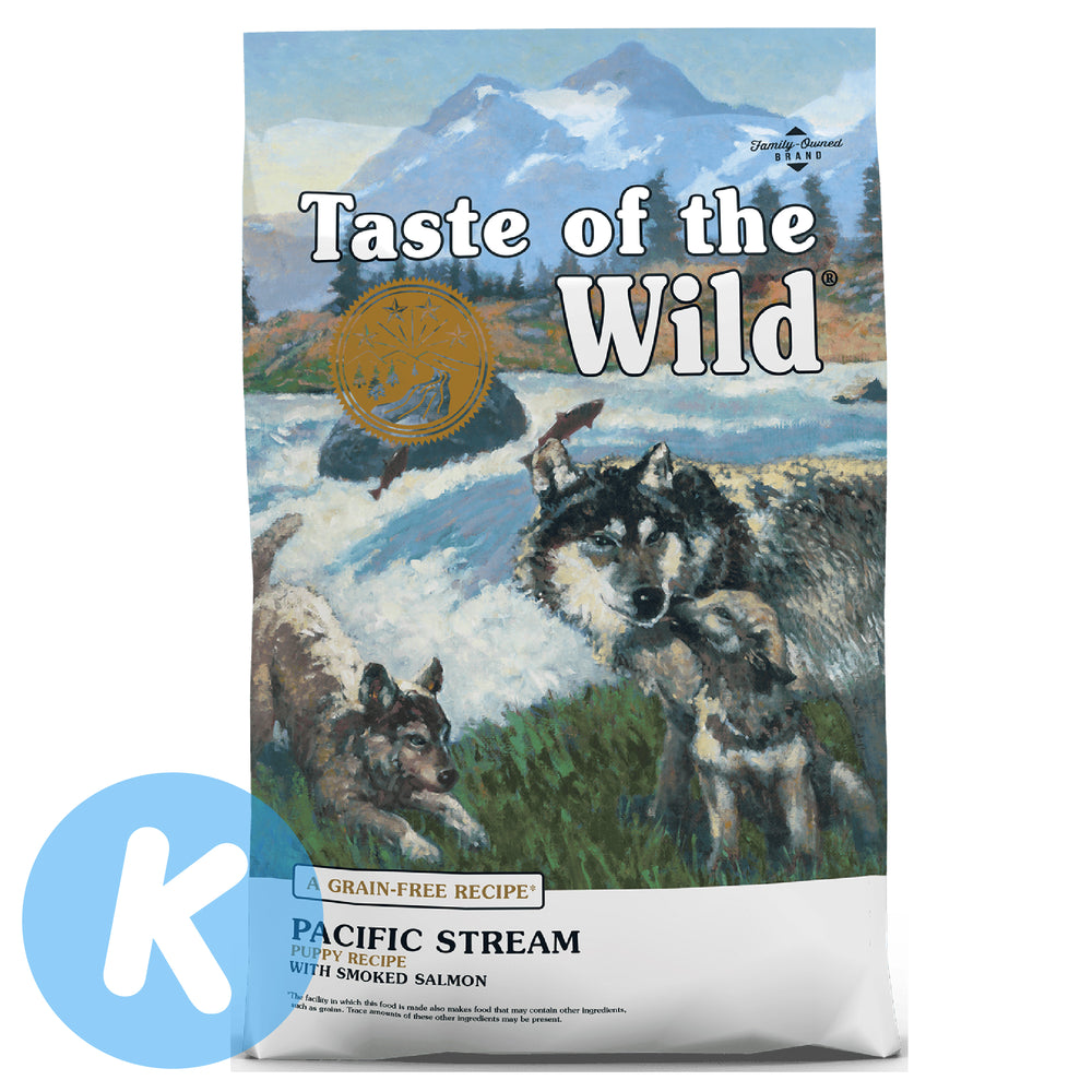 Taste Of The Wild - Pacific Stream Dry Puppy Food (2 Sizes)