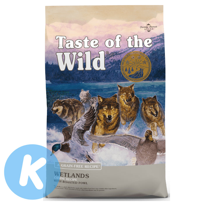 Taste Of The Wild - Wetlands Canine Roasted Fowl Dry Dog Food (2 Sizes)