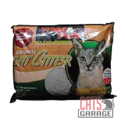 Tom & Pus - Bentonite Cat Litter Apple Scented 10L
