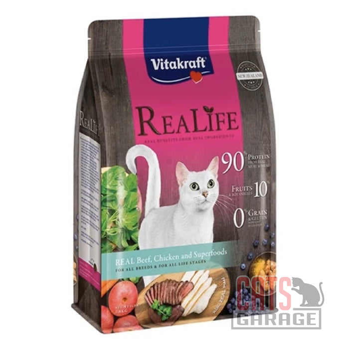 Vitakraft ReaLife - Real Beef, Chicken and Superfoods (2 Sizes)
