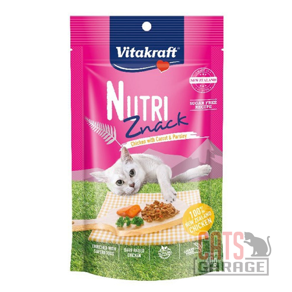Vitakraft Nutri Znack - Chicken with Carrot & Parsley 40g